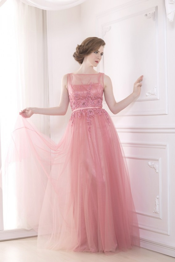 Sweet tulle evening dress