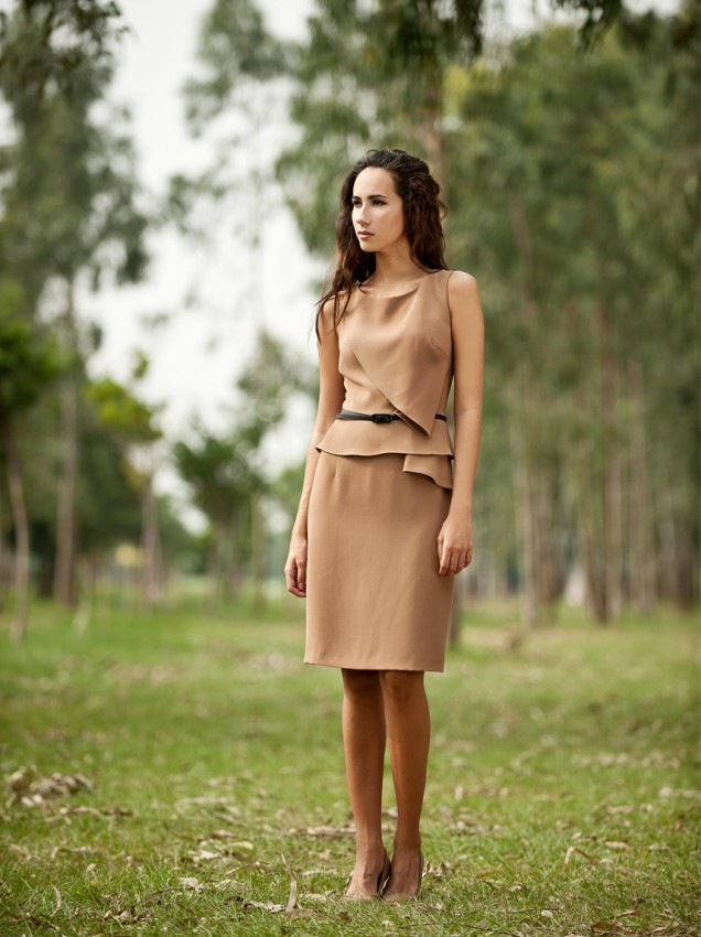 Contemporary short dress